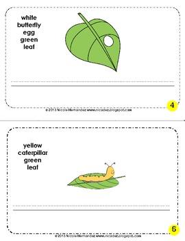 Spring Writing Fun Mini Book {Writing and Coloring}