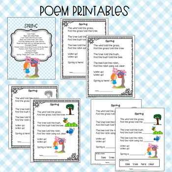 Spring is Here! A Week of Shared Reading and Poetry