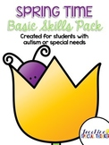 Spring is Here! Basic Skills Activity Pack for Students wi