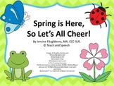 Spring is Here! Interactive Adapted Book