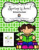 Spring is Here Interactive Book