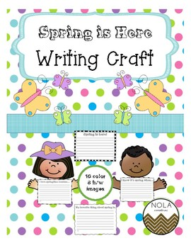 Spring is Here- No Prep Writing Craft