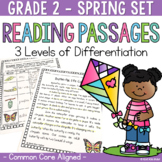 Differentiated Reading Passages and Questions Spring for 2