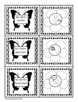 Spring is here! French Immersion Reading Comprehension Activity