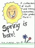 Spring is here! Math and literacy activities, perfect for centers!