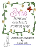Spring is here!!! Prime and Composite Numbers Sort