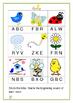 Spring is here! (literacy worksheets)
