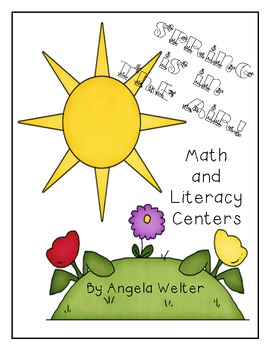 Spring is in the Air - Math and Literacy Centers