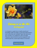Spring is in the Air Webquest