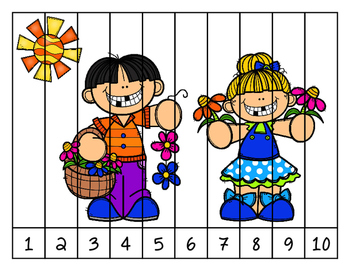 Spring is in the air! 1-10 Puzzle