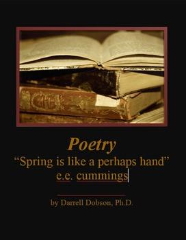 """Spring is like a perhaps hand"" -- e.e. cummings -- Poetry"