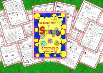 Spring - math and literacy practice  {Common core alligned}