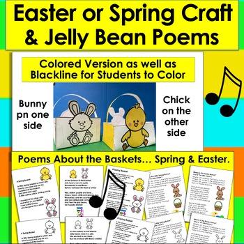 Easter Craft: Spring Basket and Poem (Spring Version, too!)