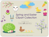 Spring or Easter Clipart ( Clip Art )