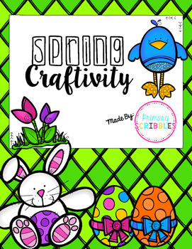 Spring or Easter Craftivity {Subtraction with and without Regrouping}