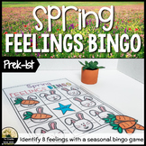 Spring or Easter Feelings Bingo Game / Counseling Activity