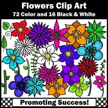Flowers Clip Art SH