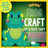 Spring or Summer Frog Craft