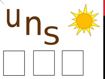 Spring picture spelling powerpoint