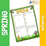 Spring schema  worksheet