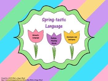 Spring-tastic Language: Idiomatic Language, Multiple Meani