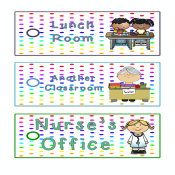 Spring theme-Hall Passes