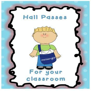 Spring theme-Hall Passes