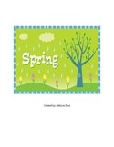Spring theme activity packet
