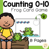 Spring themed - Counting 0-10 (Frog and Flies) - Free
