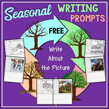Seasonal Write About The Picture FREE