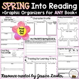 Spring Reading Graphic Organizers for ANY Book