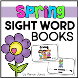 Spring themed Sight Word Books -- Set of 5 Emergent Readers