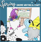 Spring time Gnome Craft and Writing | Gnome Bulletin Board