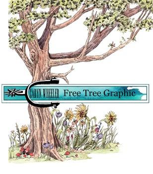 Spring tree clip art