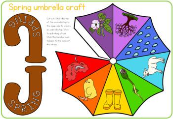 Spring umbrella  craft