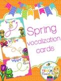 Spring vocalization cards