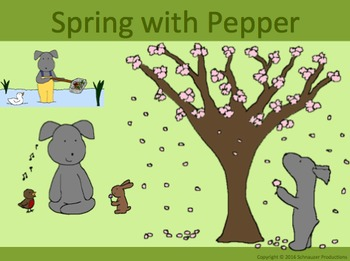 Spring with Pepper in English