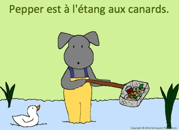 Spring with Pepper in French