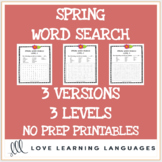 Spring word search