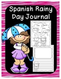 Spanish Rainy Day Writing Prompts Journal