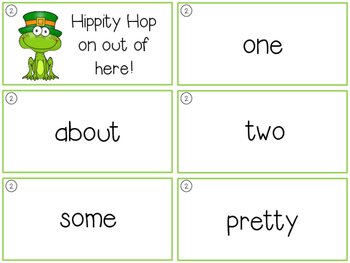 Spring ZAP sight word game