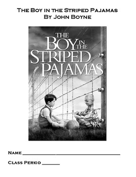 SpringBoard Aligned Boy in the Striped Pajamas Journal & Chapter Questions