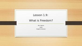 SpringBoard Grade 11 Lesson 1.9