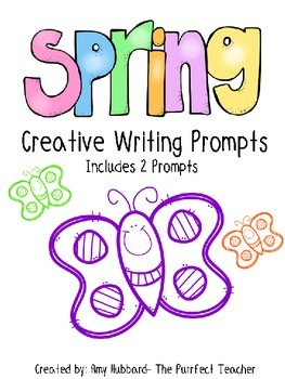 Spring/Butterfly Creative Writing Prompts- Freebie