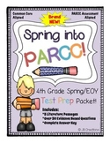 Spring/EOY PARCC Test Prep Pack for 4th Grade Literature
