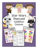 Spring/Easter Addition Math Games Star Wars Themed
