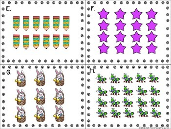 Spring/Easter Array Scoot Freebie