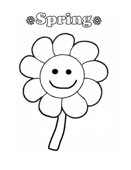 Spring/Easter Coloring Pages