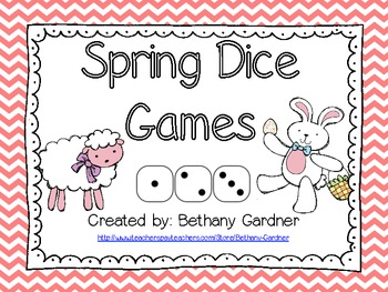 Spring/Easter Dice Games