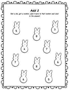 Spring/Easter Math Activities and Centers